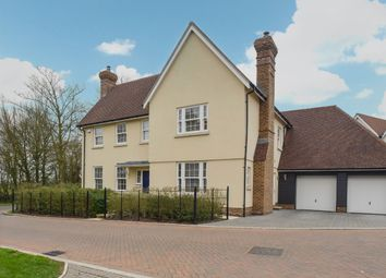 Thumbnail 5 bed detached house for sale in Old Mill Close, Aythorpe Roding, Dunmow, Essex