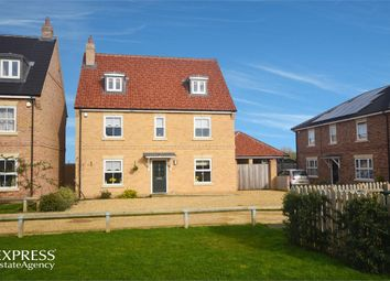 Thumbnail 5 bed detached house for sale in Forman Close, Watton, Thetford, Norfolk