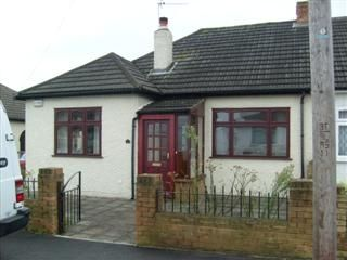 Thumbnail 2 bed semi-detached bungalow to rent in Rosemary Road, Welling, Kent