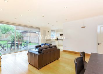 Thumbnail 3 bed flat to rent in Monkville Avenue, Temple Fotrune, London