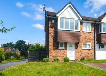 Thumbnail 3 bed mews house for sale in Larchwood Drive, Wilmslow