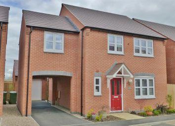 Thumbnail 4 bed detached house for sale in Kempton Drive, Barleythorpe, Oakham