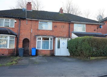 Thumbnail 2 bed terraced house for sale in Norrington Road, Birmingham