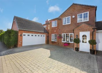 Thumbnail 4 bed link-detached house for sale in Forest View, Overseal, Swadlincote
