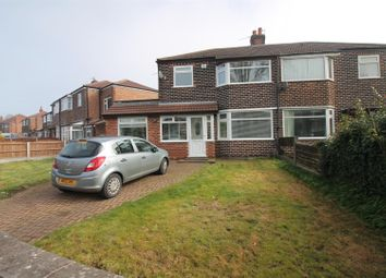 Thumbnail 3 bed semi-detached house for sale in Aldermere Crescent, Urmston, Manchester