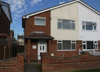 Thumbnail 3 bed semi-detached house for sale in Gainsborough Avenue, Canvey Island, Essex