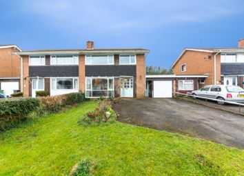 Thumbnail 3 bed semi-detached house for sale in Hafod Road, Ponthir, Newport.