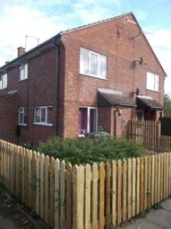 Thumbnail 1 bed end terrace house to rent in Weightman Drive, Giltbrook, Nottingham
