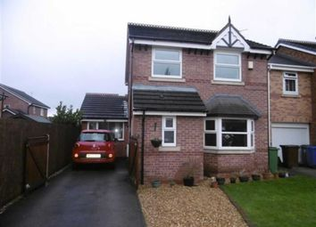 Thumbnail 4 bed detached house for sale in Spinnerette Close, Leigh, Lancashire