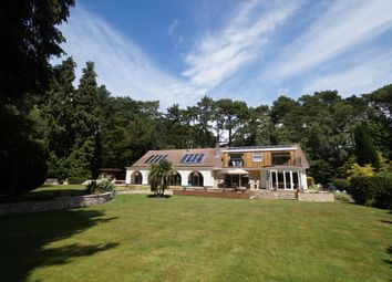 Thumbnail 5 bed detached house to rent in Dover Road, Branksome Park, Poole, Dorset