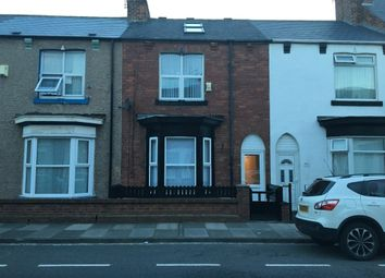 Thumbnail 5 bed terraced house for sale in Osborne Road, Hartlepool