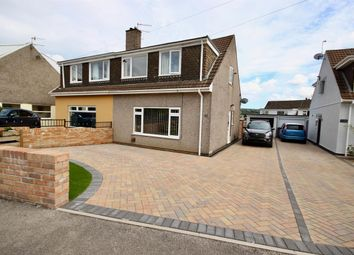 Thumbnail Semi-detached house for sale in Cherry Tree Road, The Bryn, Pontllanfraith, Blackwood