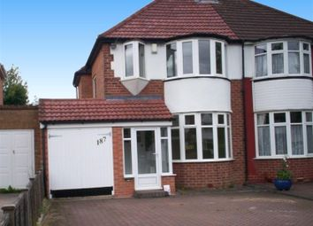 Thumbnail 3 bed semi-detached house to rent in Lode Lane, Solihull
