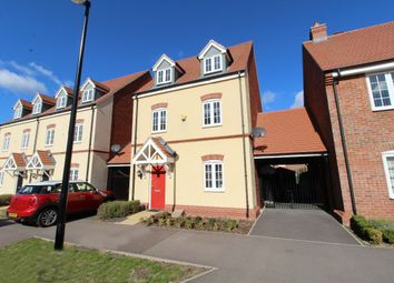 Thumbnail 4 bed link-detached house for sale in Wren Terrace, Wixams, Bedford