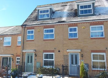 Thumbnail 3 bed town house for sale in Silver Street, Brownhills