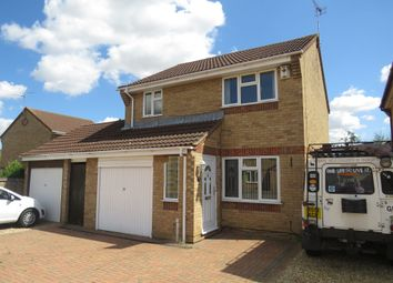 Thumbnail 3 bedroom detached house for sale in Caldbeck Close, Peterborough
