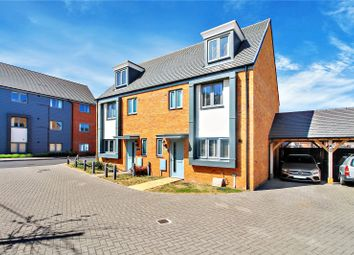 Thumbnail 4 bed semi-detached house for sale in Baird Way, Minster On Sea, Sheerness