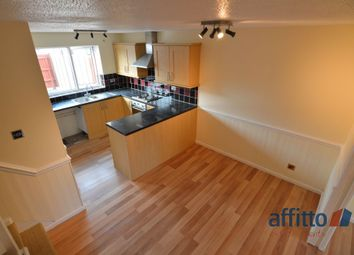 Thumbnail 2 bed semi-detached house to rent in Knightsbridge Road, Glen Parva, Leicester