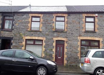 Thumbnail 3 bed terraced house for sale in Seaton Street, Pontypridd