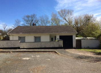 Thumbnail 3 bed detached bungalow for sale in North Hall, St. Ishmaels, Haverfordwest