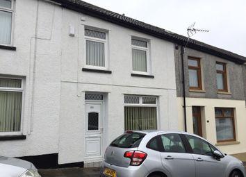 Thumbnail 3 bed terraced house for sale in Seward St, Penydarren, Merthyr Tydfil