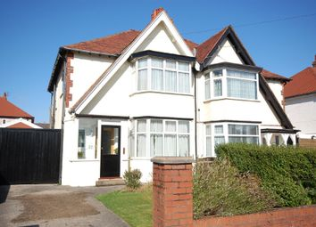 Thumbnail 3 bed semi-detached house for sale in Sandicroft Road, Blackpool, Lancashire