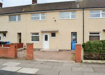 Thumbnail 3 bed terraced house to rent in Imber Road, Kirkby, Liverpool