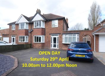 Thumbnail 3 bed semi-detached house for sale in Water Orton Road, Castle Bromwich, Birmingham