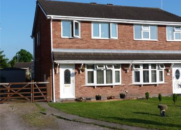 Thumbnail 3 bed semi-detached house for sale in Rochester Crescent, Sydney, Crewe, Cheshire