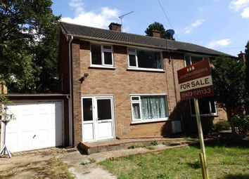Thumbnail 4 bedroom semi-detached house for sale in Trafalgar Close, Ipswich