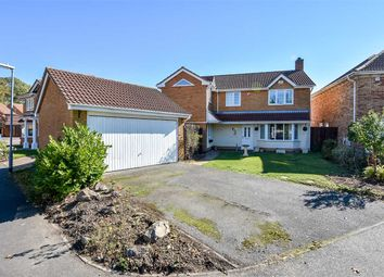 Thumbnail 4 bed detached house for sale in Regal Drive, Kettering