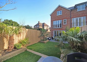 Thumbnail 4 bed terraced house to rent in Warren Close, Esher, Surrey