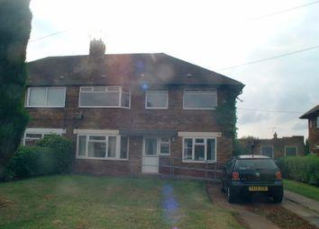 Thumbnail 2 bedroom maisonette to rent in Larkfield Road, Nuthall, Nottingham