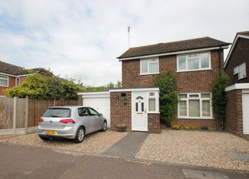 Thumbnail 3 bed detached house to rent in Henley Court, Colchester