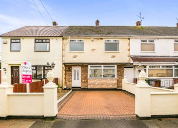 Thumbnail 4 bed terraced house for sale in Fairmead Road, Moreton, Wirral