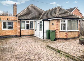 Thumbnail 2 bed detached bungalow for sale in Pine Road, Glenfield, Leicester