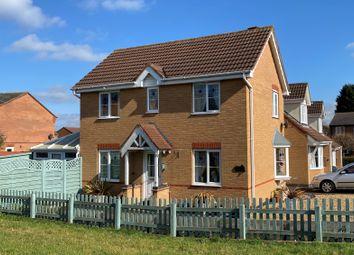 Clover Drive, Melton Mowbray LE13. 3 bed link-detached house for sale