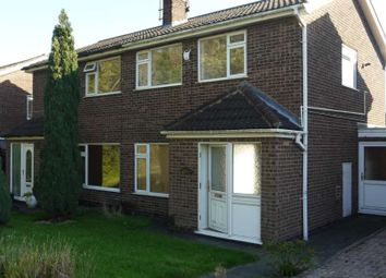 Thumbnail 3 bed semi-detached house to rent in Fulmar Road, Anstey, Leicester