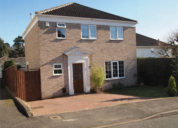 Thumbnail 3 bed detached house for sale in South Way, Kibworth, Leicester