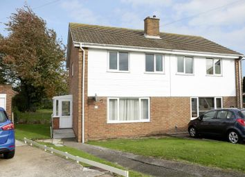 Thumbnail 3 bed semi-detached house for sale in Darracott Close, Deal