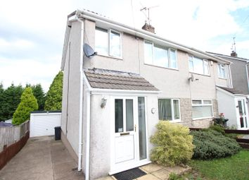 Thumbnail 3 bed semi-detached house for sale in Laurel Road, Bassaleg, Newport