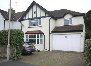 Thumbnail 4 bed detached house to rent in Woodman Road, Warley, Brentwood, Essex