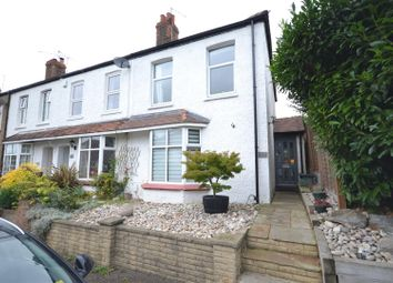 Thumbnail 2 bedroom end terrace house for sale in Rosebery Road, Epsom