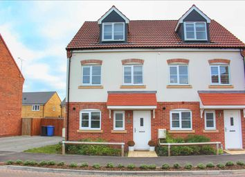 Thumbnail 3 bed town house for sale in Mulberry Gardens, Great Cornard, Sudbury