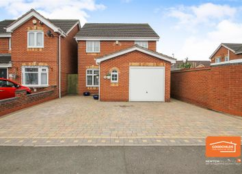 Thumbnail 3 bed detached house for sale in Brook Lane, Walsall Wood, Walsall