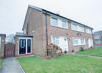 Thumbnail 2 bed flat for sale in Seafield Road, Blyth