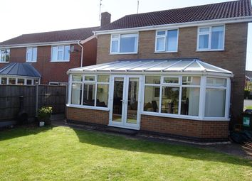 Thumbnail 4 bed detached house for sale in Teasel Close, Narborough, Leicester