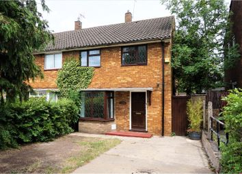 Thumbnail 3 bed semi-detached house for sale in Poynters Road, Luton
