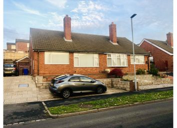 Thumbnail 2 bed semi-detached bungalow for sale in Elldawn Avenue, Stoke-On-Trent