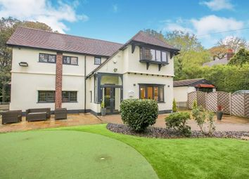 Thumbnail 4 bed detached house for sale in High Lane, Woodley, Stockport, Cheshire